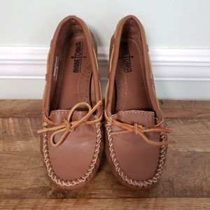 Minnetonka Leather Moccasins 6